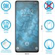 2 x Galaxy A71 Protection Film Tempered Glass clear  Pic:1
