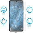2 x Galaxy A51 Protection Film clear  Pic:1