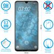 2 x Honor 10 Lite Protection Film Tempered Glass clear full screen black Pic:1