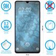 2 x Mate 20 X Protection Film Tempered Glass clear full screen black Pic:1