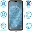 2 x iPhone 11 Protection Film Tempered Glass clear full screen black Pic:1