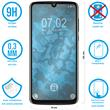 2 x Moto Z4 Protection Film Tempered Glass clear full screen black Pic:1
