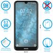 1 x Nokia 2.2 Protection Film Tempered Glass clear full screen black Pic:1