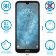 2 x Nokia 4.2 Protection Film Tempered Glass clear full screen black Pic:1