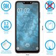 1 x Nova 3 Protection Film Tempered Glass clear full screen black Pic:1