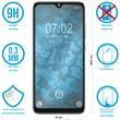 1 x Mi A3 Protection Film Tempered Glass clear full screen black Pic:1