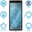 1 x Xperia 10 Protection Film Tempered Glass clear full screen black Pic:1