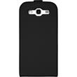 Artificial Leather Case for Samsung Galaxy S3 Flipcase black Pic:1
