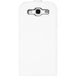 Artificial Leather Case for Samsung Galaxy S3 Flipcase white Pic:1