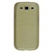 Silicone Case for Samsung Galaxy S3 Neo brushed gold Pic:1