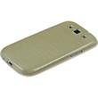 Silicone Case for Samsung Galaxy S3 Neo brushed gold Pic:3
