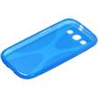 Silicone Case for Samsung Galaxy S3 X-Style blue Pic:3
