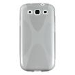 Silicone Case for Samsung Galaxy S3 X-Style gray Pic:1