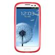 Silicone Case for Samsung Galaxy S3 X-Style red Pic:2