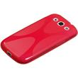 Silicone Case for Samsung Galaxy S3 X-Style red Pic:3
