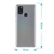 Silicone Case Galaxy A21 S crystal-case Crystal Clear Cover Pic:1