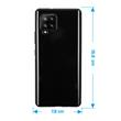 Silicone Case Galaxy A42 crystal-case black Cover Pic:1