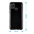 Silicone Case Galaxy M31 crystal-case black Cover Pic:1