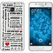 Samsung Galaxy A5 (2016) A510 Silicone Case in Love M4