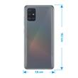 Silicone Case Galaxy A51 crystal-case Crystal Clear Cover Pic:1