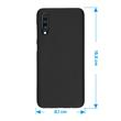 Silicone Case Galaxy A70 matt black Cover Pic:1