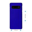 Hardcase Galaxy S10 rubberized blue Cover Pic:1