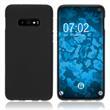 Silicone Case Galaxy S10 Lite matt black Cover