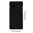 Hardcase Galaxy S10 Plus rubberized black Cover Pic:1