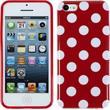 Silikonhülle für Apple iPhone 5c Polkadot Design:09