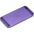 Silicone Case for Apple iPhone 5 / 5s X-Style purple Pic:4