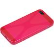 Silicone Case for Apple iPhone 5 / 5s X-Style hot pink Pic:4