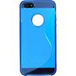 Silicone Case for Apple iPhone 5 / 5s S-Style logo blue Pic:3