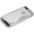 Silicone Case for Apple iPhone 5 / 5s S-Style logo transparent Pic:4