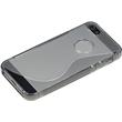 Silicone Case for Apple iPhone 5 / 5s S-Style logo gray Pic:5