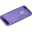 Silicone Case for Apple iPhone 5 / 5s S-Style logo purple Pic:4