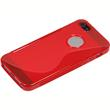 Silicone Case for Apple iPhone 5 / 5s S-Style logo red Pic:5