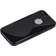 Silicone Case for Apple iPhone 5 / 5s S-Style logo black Pic:5