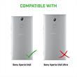 Silikon Hülle Xperia XA2 matt clear Case Pic:6