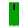 Hardcase Xperia 1 rubberized green Cover Pic:1