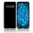 Silicone Case V60 ThinQ transparent black