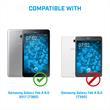 2 x Galaxy Tab A 8.0 2017 T380/5 Schutzfolie matt  Pic:3