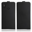 Artificial Leather Case Mi Max 3 Flip-Case black Cover Pic:1