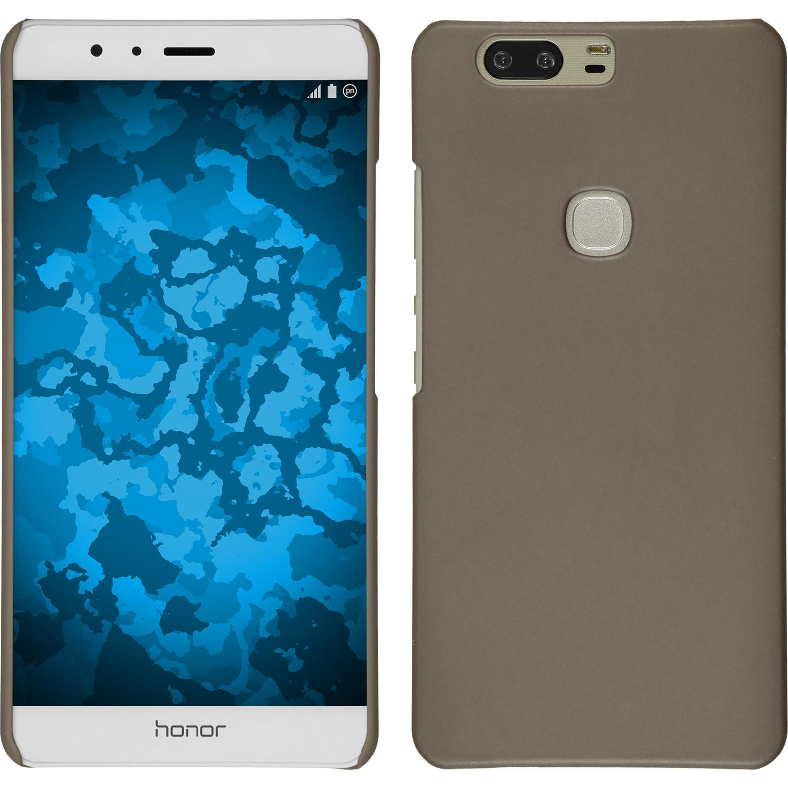 Funda-Rigida-Huawei-Honor-V8-goma-protector-de-pantalla