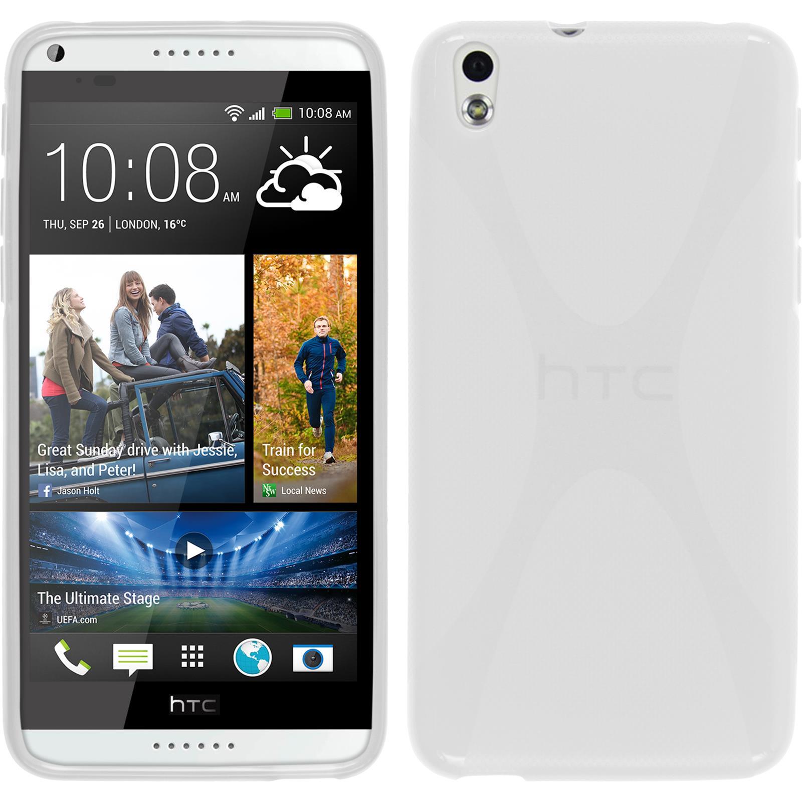Coque-en-Silicone-HTC-Desire-816-X-Style-films-de-protection