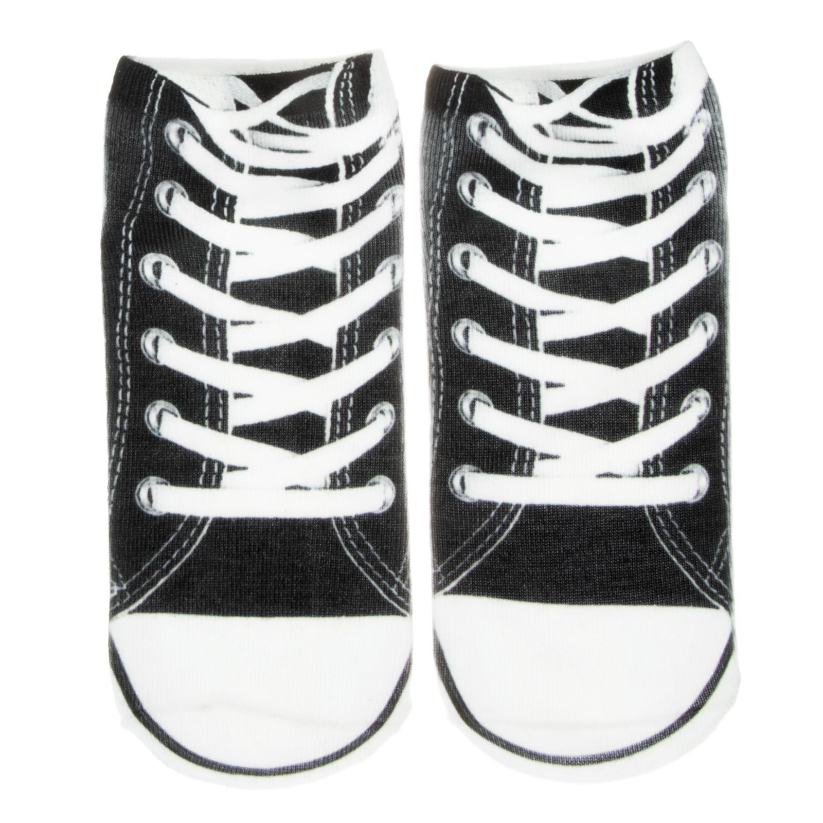 Cosey – 1 Paia Sneaker Calzini Breve Polarzip – Design Di Chuck – Flexigröße 33-40-mostra Il Titolo Originale Delizie Amate Da Tutti
