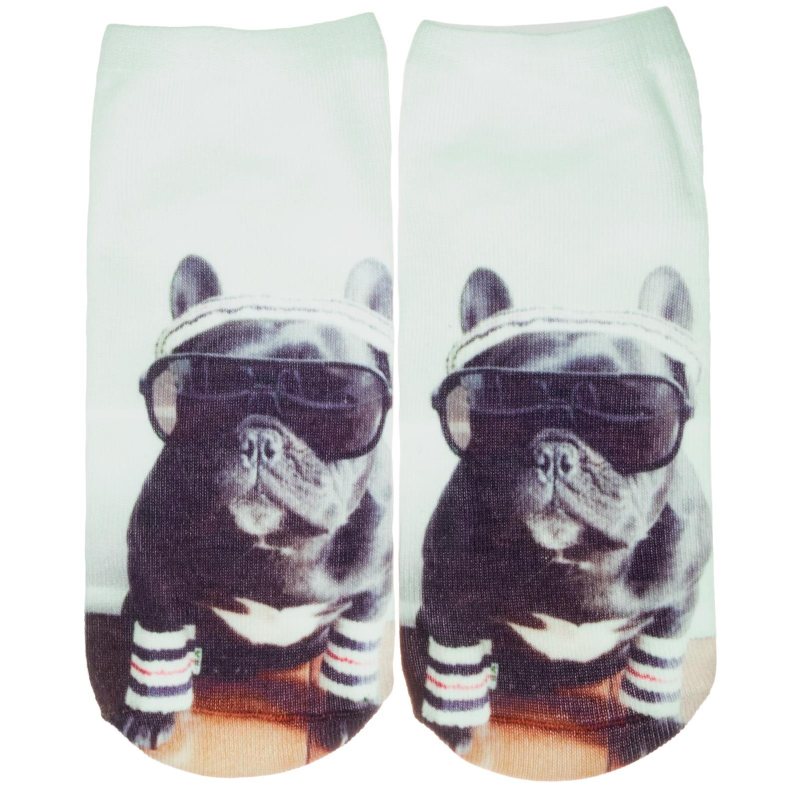 Contemplativo Cosey – 1 Paia Sneaker Calzini Breve Polarzip – Cool Bulldog – Flexigröße 33-40-mostra Il Titolo Originale