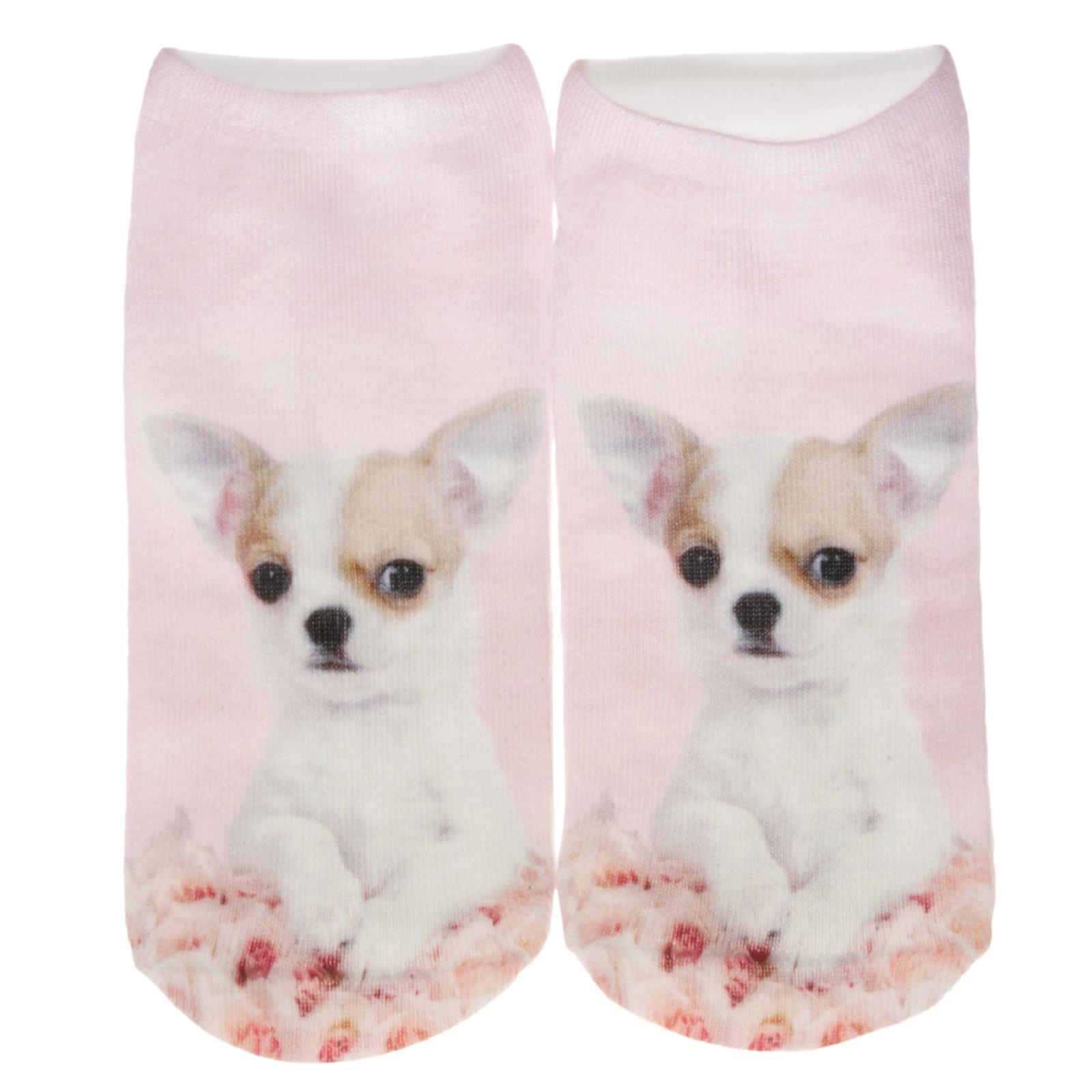 Cosey – 1 Paia Sneaker Calzini Breve Polarzip – Chihuahua – Flexigröße 33-40-mostra Il Titolo Originale E Avere Una Lunga Vita