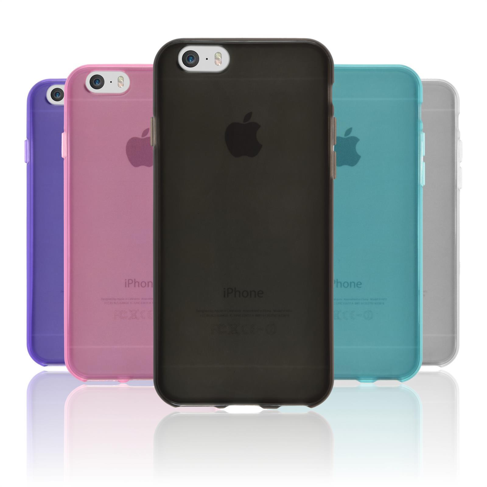 Silikonhülle für Apple iPhone 6s Plus / 6 Plus transparent