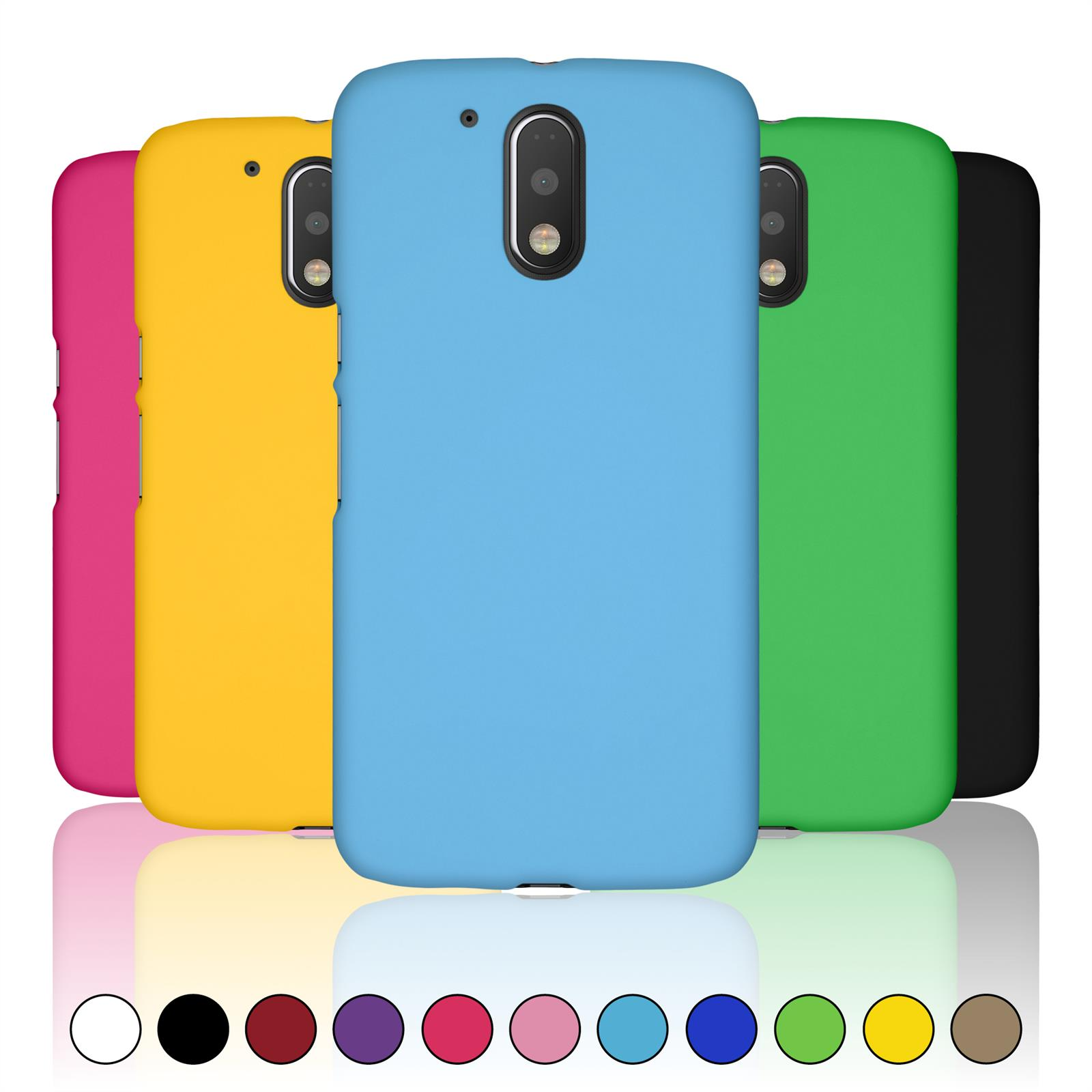 Cover Case For Motorola Moto G3, G4, G4 Plus, G4 Play, X Play + Protective Foils