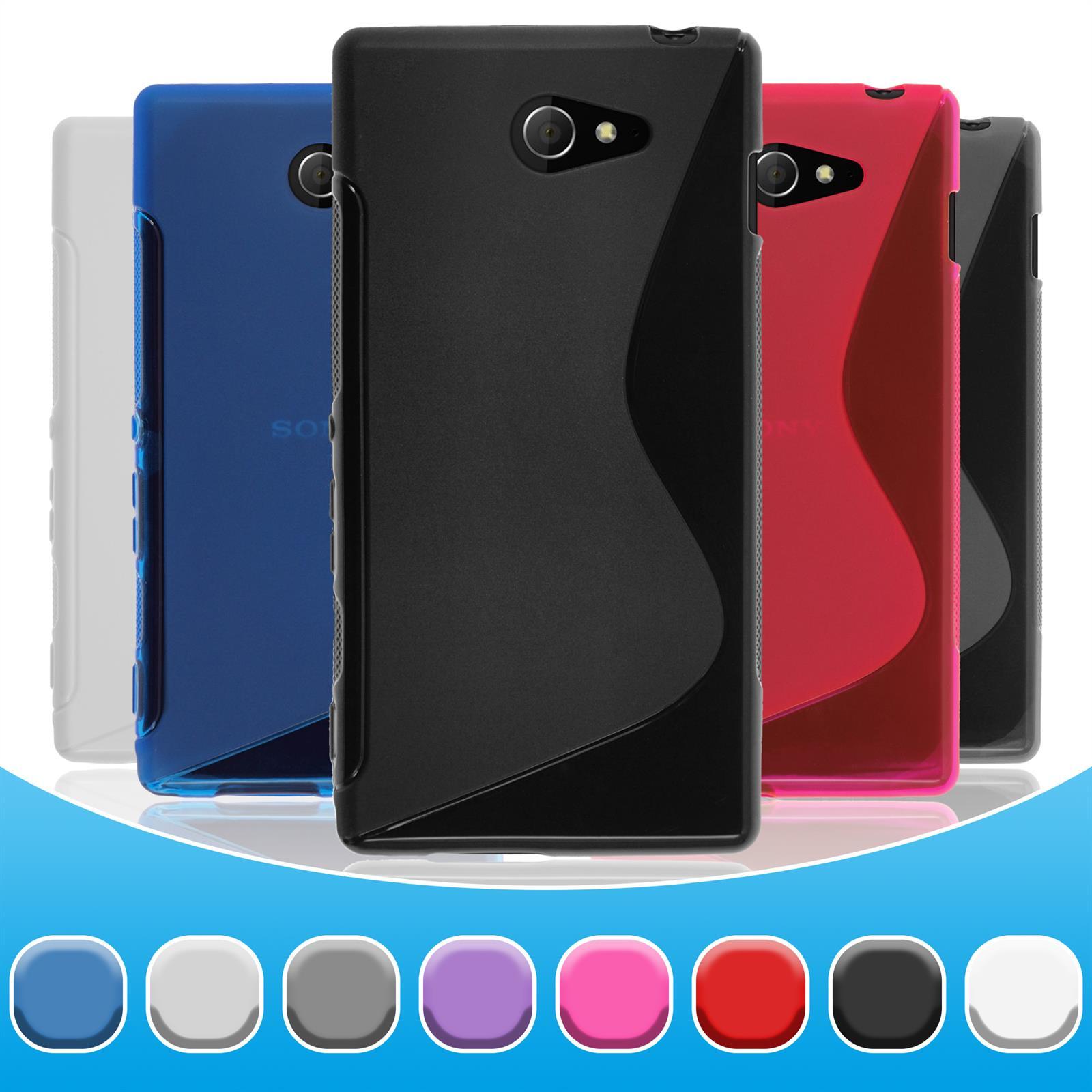 Sony Xperia sony xperia miro phone case : Schutzhulle-fur-Sony-Xperia-S-Style-Hullen-Cover-Case-Schutzfolien